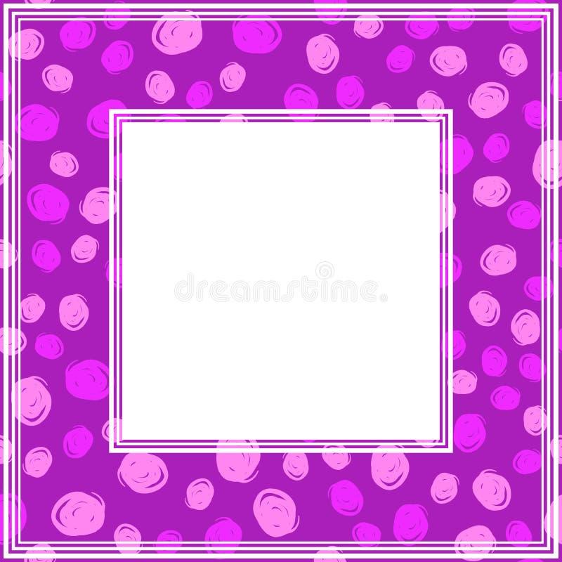 Ультрафиолетов border-08 иллюстрация штока