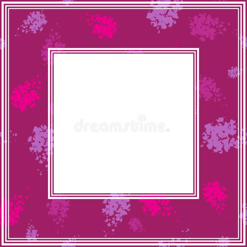 Ультрафиолетов border-14 бесплатная иллюстрация