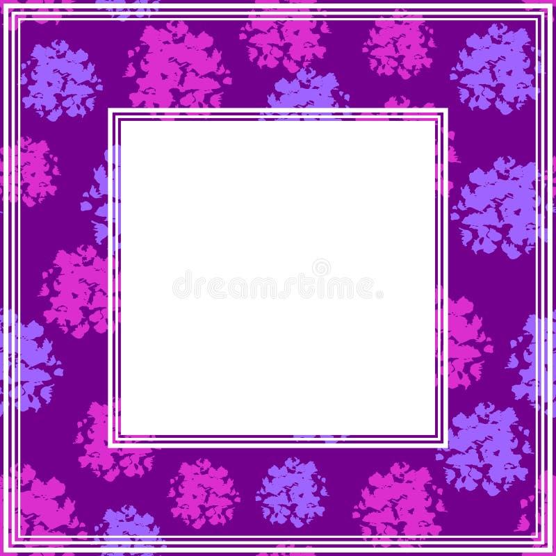 Ультрафиолетов border-13 иллюстрация штока