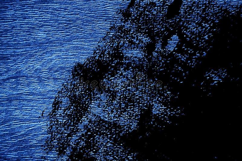 Ультра поверхность grunge Марины деревянная для модель-макета дизайна треснула текстуру или темную бумажную предпосылку иллюстрация штока