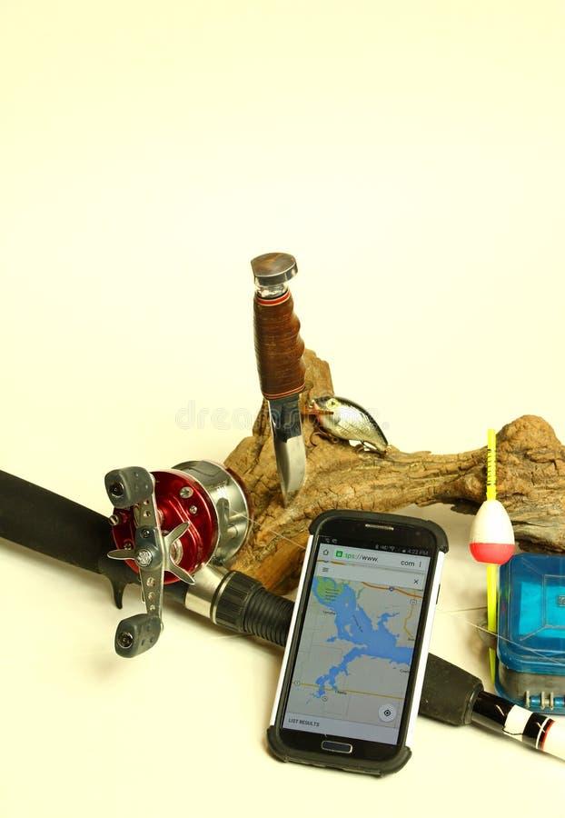 Умная рыбная ловля стоковая фотография