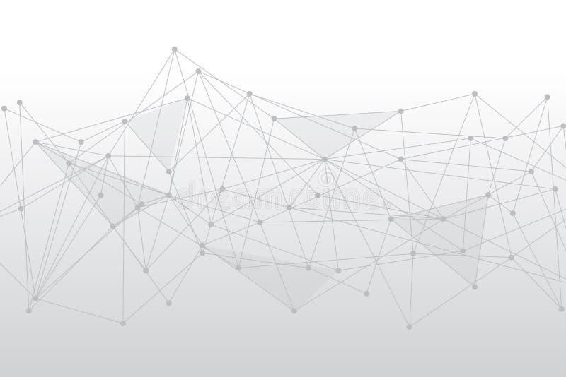Умные технологии связи для того чтобы поставить высокое взаимодействие наличия A иллюстрация вектора