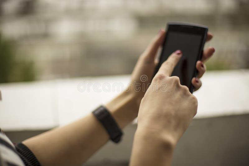 Умный набирать телефона стоковые фото