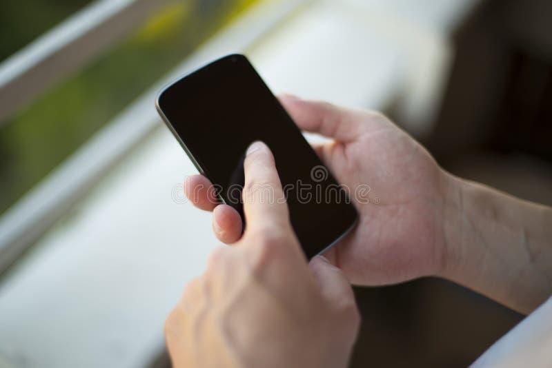 Умный набирать телефона стоковая фотография