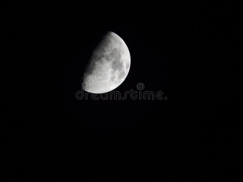 луна waning стоковые изображения rf