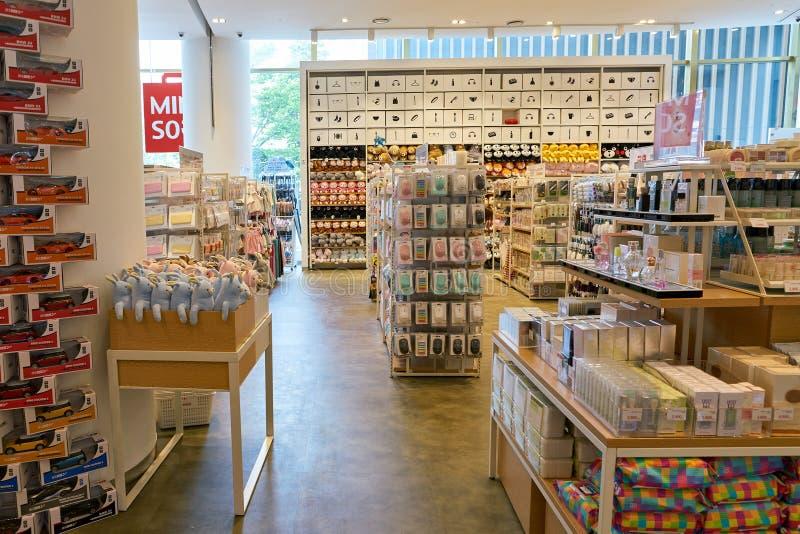 Универмаг Lotte стоковое фото rf
