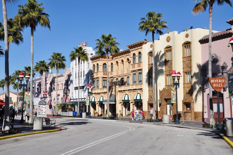 универсалия hollywood orlando бульвара стоковая фотография rf