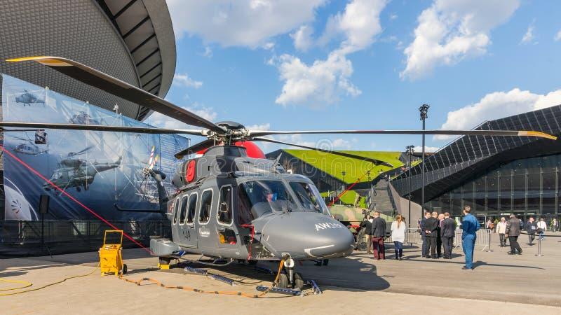 Универсальный вертолет AW149 стоковое фото rf