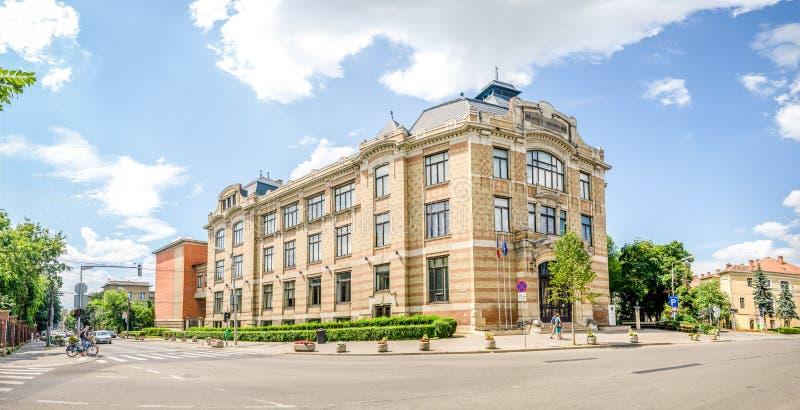 Университетская библиотека Lucian Blaga центральная в Cluj стоковые изображения rf