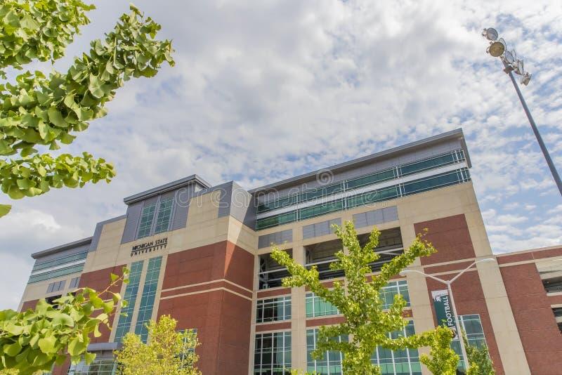 Университетский кампус штата Мичиган стоковая фотография