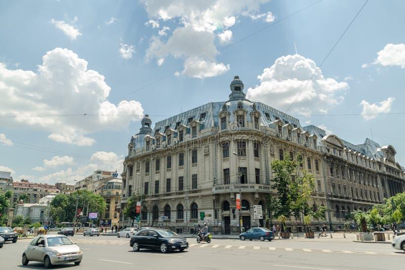 Университет Бухареста стоковые фото