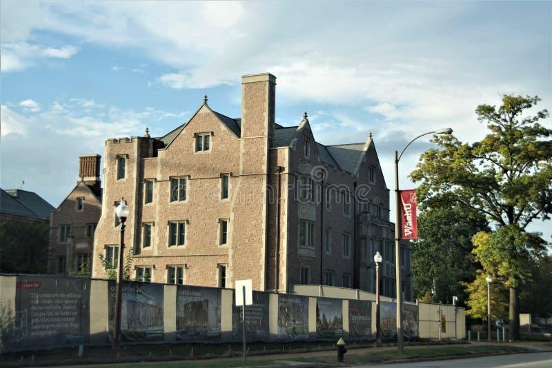 Университет Вашингтона, Сент-Луис Миссури стоковое фото rf