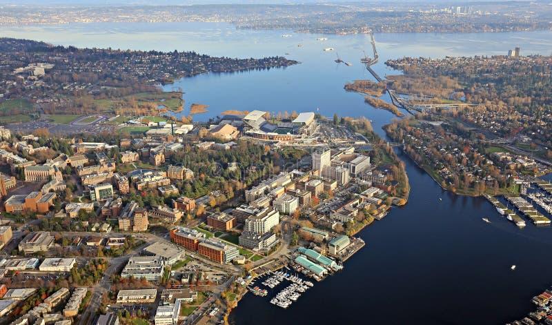 Университет Вашингтона стоковое изображение rf