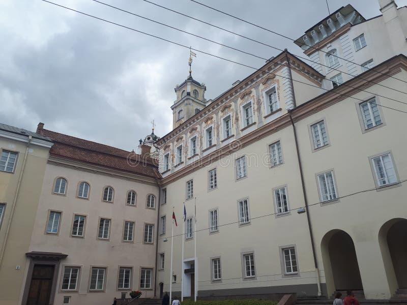 Университет Вильнюса стоковые фотографии rf