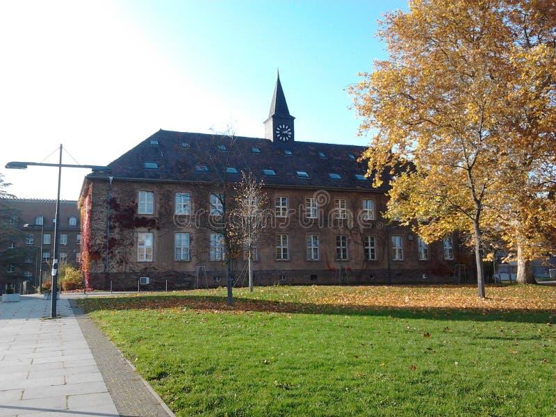 Университет Германия Саара стоковые изображения