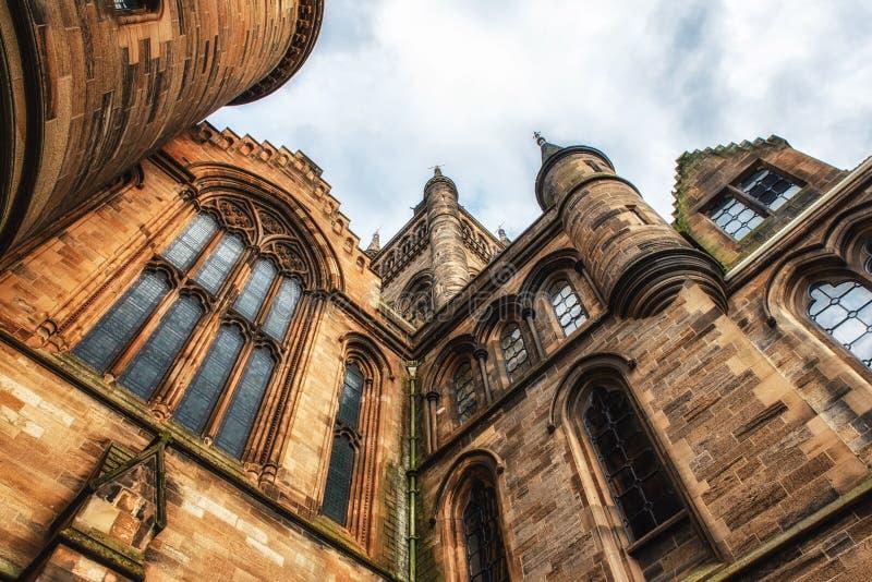 Университет Глазго, Шотландии стоковая фотография rf
