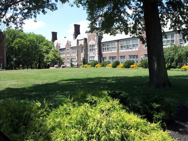 Университет города Нью-Джерси, Jersey City, NJ стоковое фото