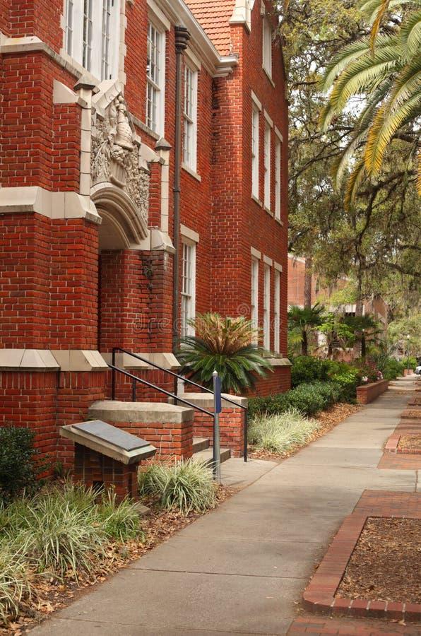 университет залы грифона floyd florida стоковое изображение