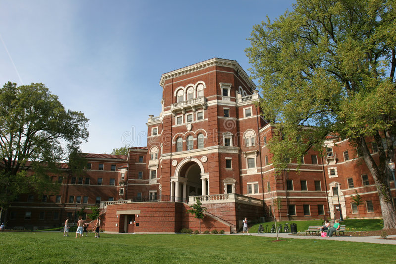 университет кампуса стоковые изображения