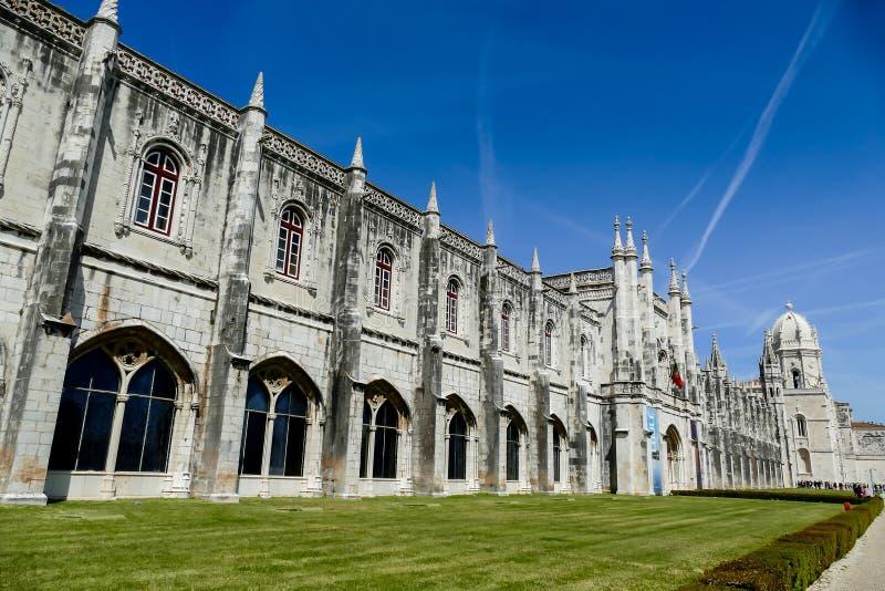 университет коллежа, в столице Лиссабона Португалии стоковое фото rf