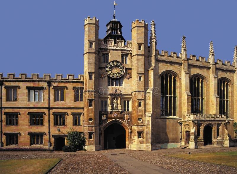 университет королей коллежа cambridge стоковое фото rf