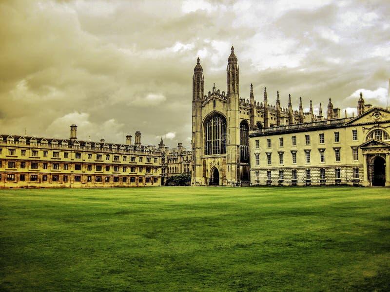 университет короля s коллежа cambridge стоковое фото