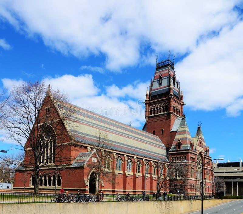 университет мемориала harvard залы стоковое фото rf