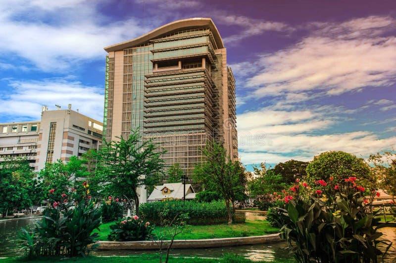 Университет дорогой Таиланд Rangsit стоковые фото