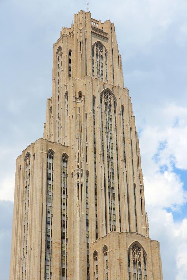 Университет Питтсбурга стоковое изображение
