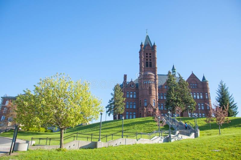 Университет Сиракуза, Сиракуз, Нью-Йорк, США стоковое фото rf