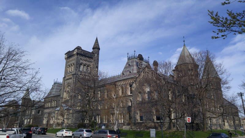 Университет университета Торонто стоковые изображения