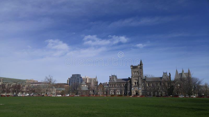 Университет университета Торонто стоковое фото