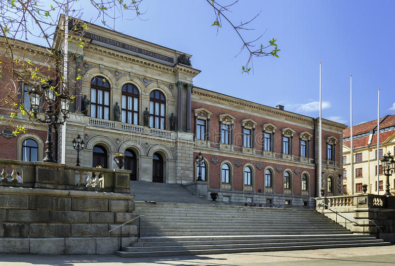 Университет Уппсалы стоковые изображения rf