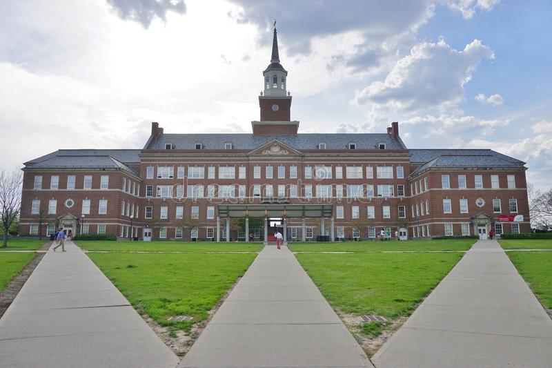 Университет Цинциннати, Огайо стоковая фотография rf