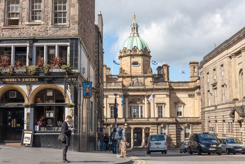 Университет Эдинбург стоковое изображение rf