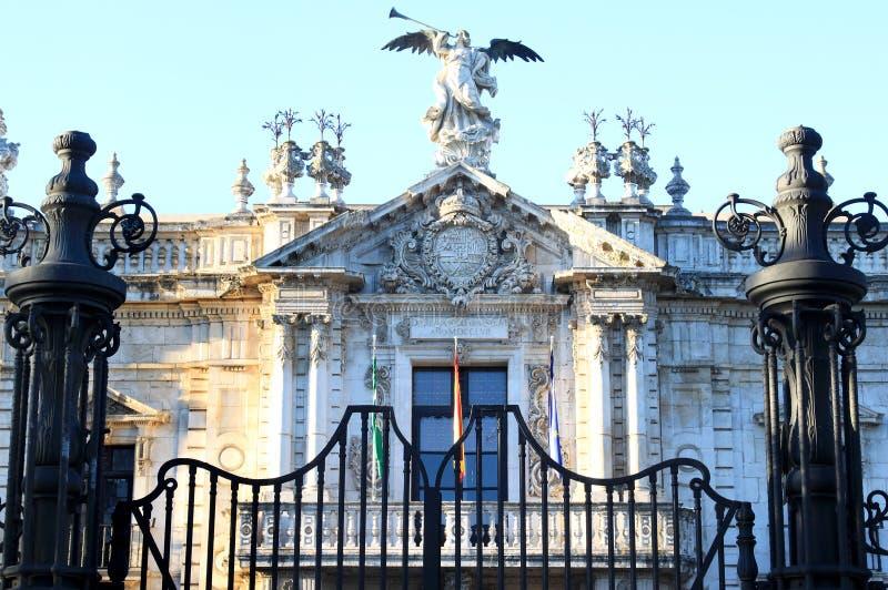 университет andalusia seville Испании стоковая фотография