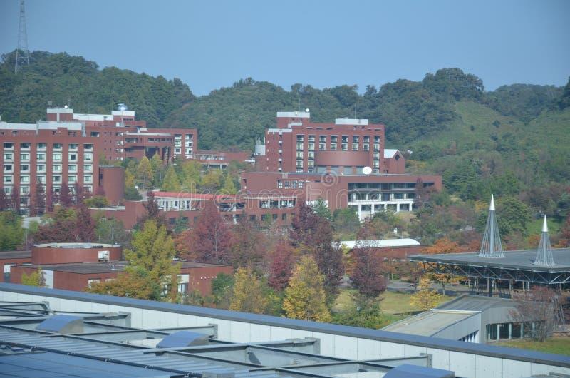 Университет Kanazawa, кампус Kakuma, Япония стоковое фото