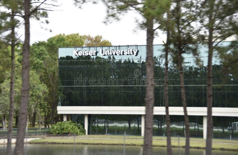 Университет Keiser, Джексонвилл, Флорида стоковая фотография rf