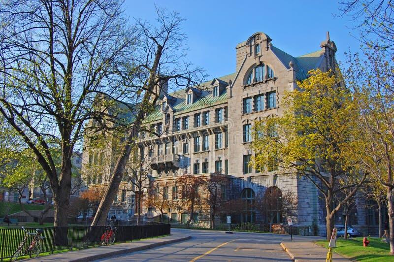 Университет McGill, Монреаль, Квебек, Канада стоковая фотография