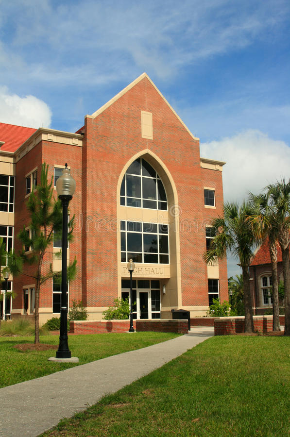 университет pugh залы florida стоковое фото rf