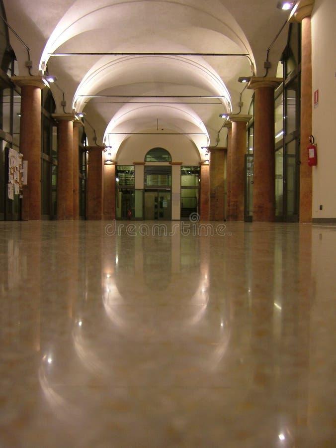 университет reggio здания e emilia modena старый стоковое изображение rf