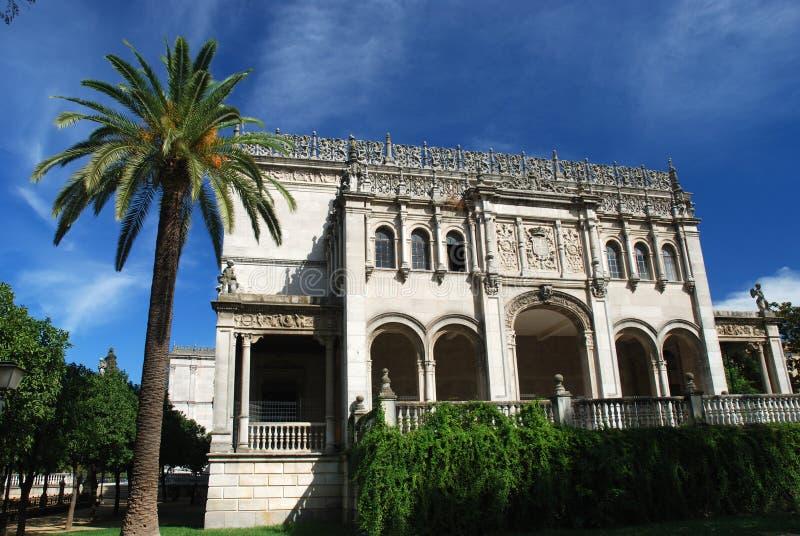 университет sevilla Испании стоковая фотография