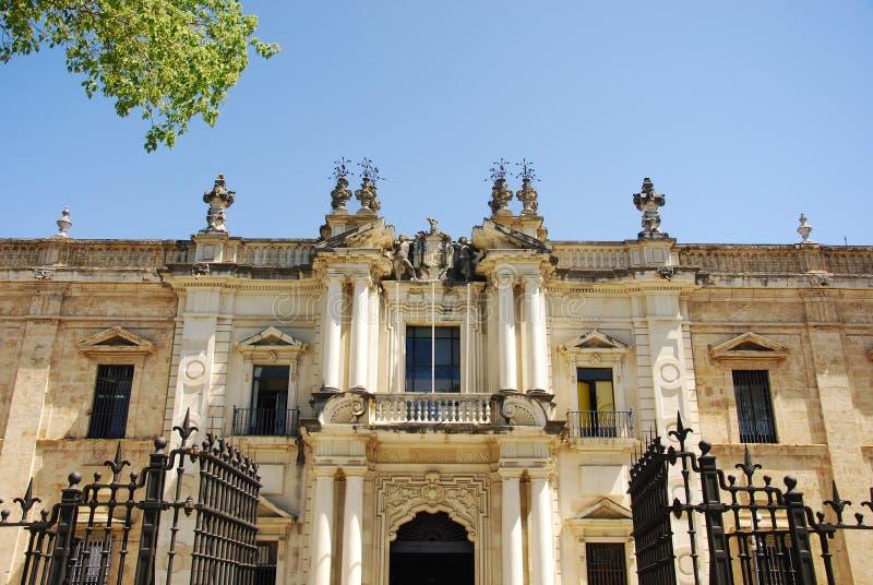 университет seville стоковое изображение