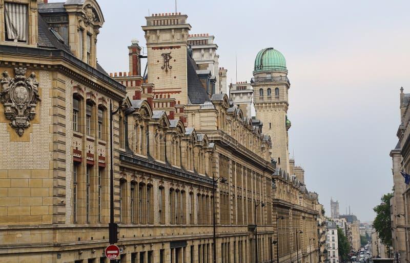 Университет Sorbonne в Париже, Франции стоковые фото