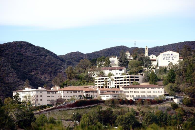 Университет St Mary держателя стоковое фото
