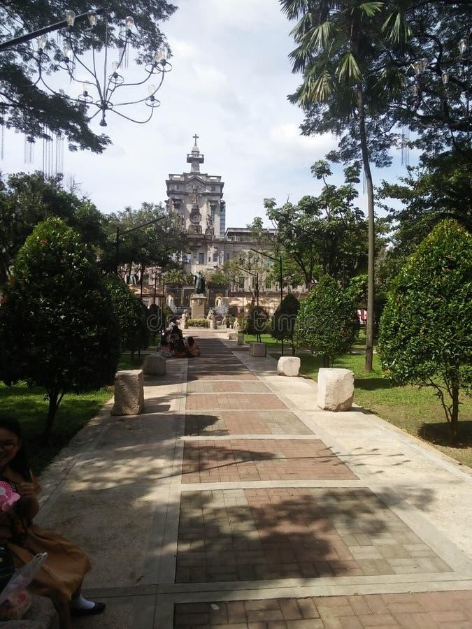 Университет Sto Здание Tomas главное стоковое фото