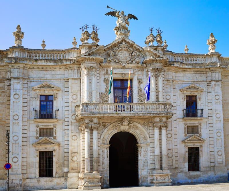 Университет Universidad de Севильи Севильи стоковые изображения