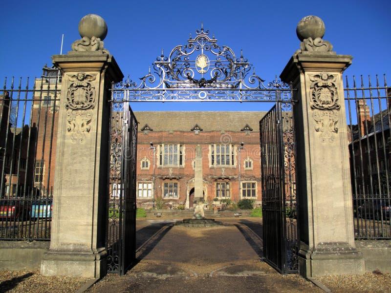 университет westminster коллежа cambridge стоковая фотография rf
