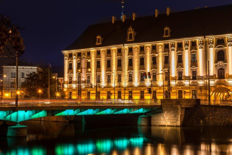 Университет Wroclaw стоковые фотографии rf