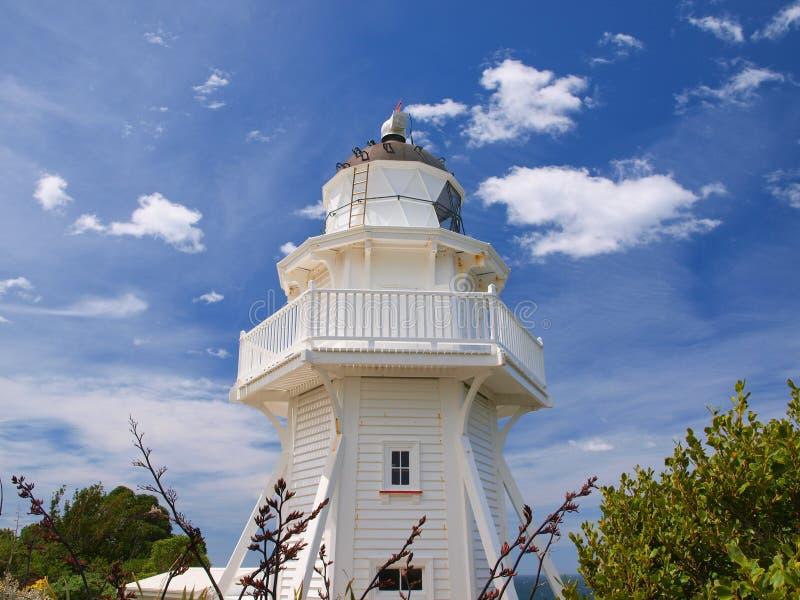 Уникально деревянный маяк стоковая фотография